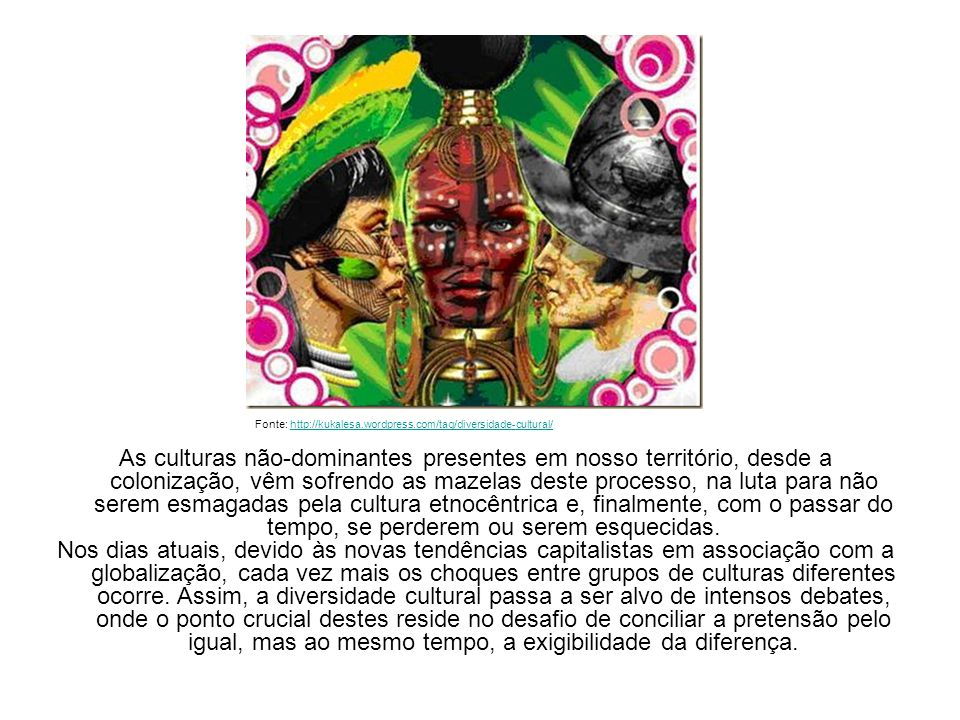 Fonte: http://kukalesa.wordpress.com/tag/diversidade-cultural/