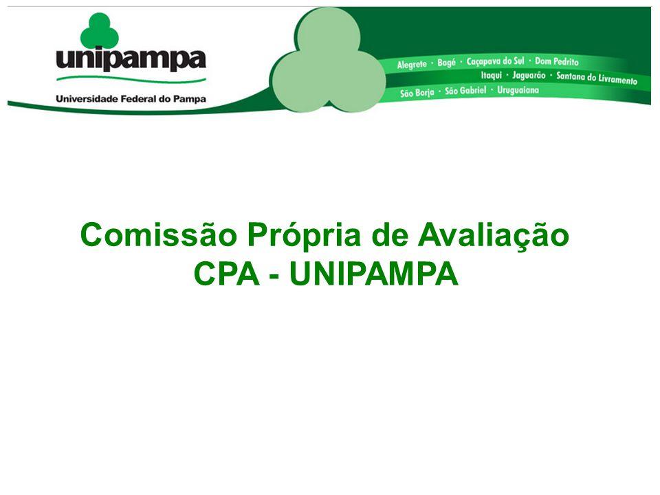 Comissão Própria de Avaliação CPA - UNIPAMPA
