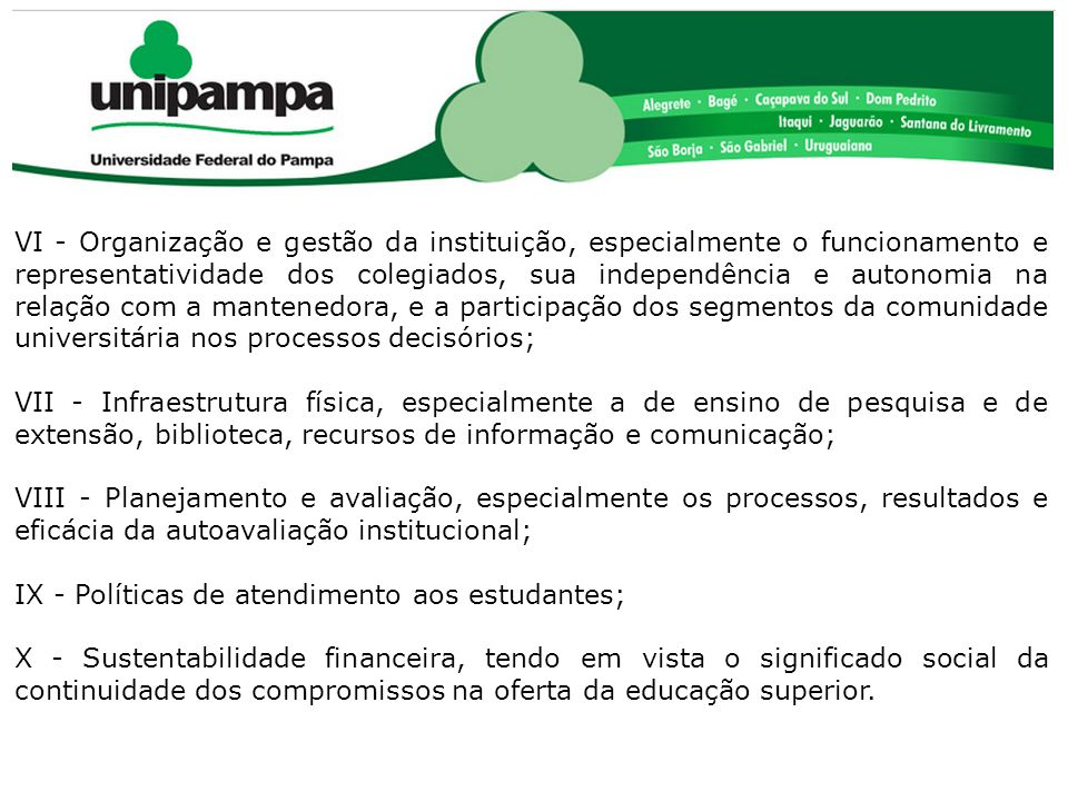 COMISSÃO PRÓPRIA DE AVALIAÇÃO (CPA)