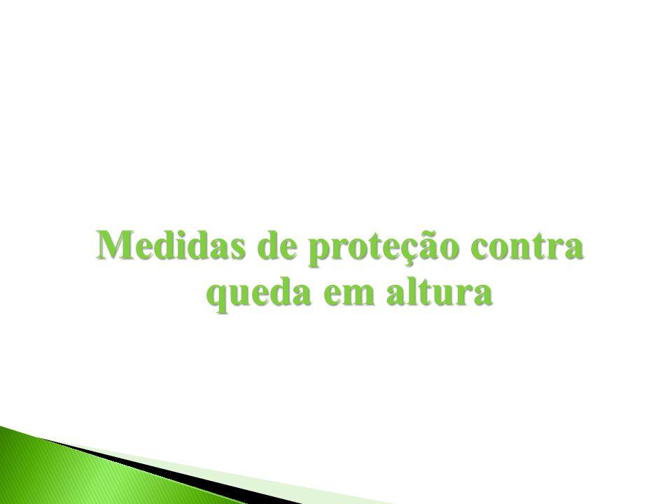 Medidas de proteção contra queda em altura