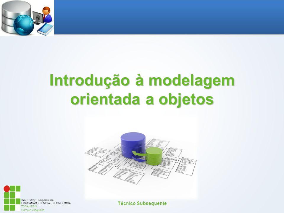 Introdução à modelagem orientada a objetos