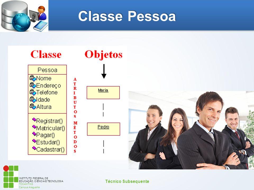 Classe Pessoa Técnico Subsequente