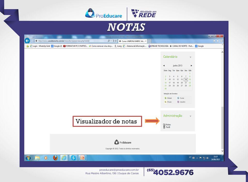 NOTAS Visualizador de notas