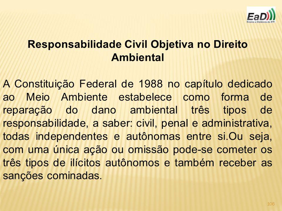 Responsabilidade Civil Objetiva no Direito Ambiental