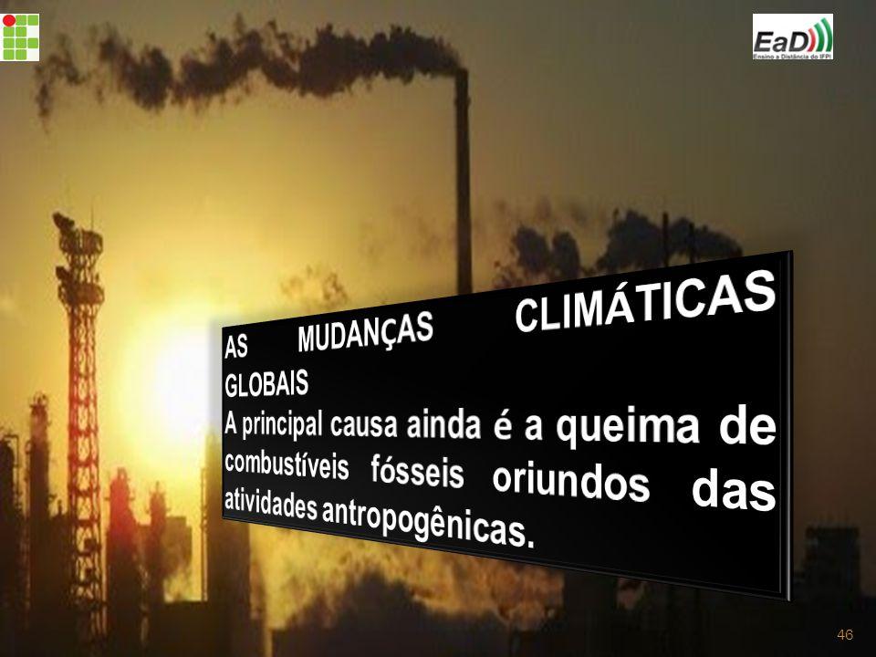 AS MUDANÇAS CLIMÁTICAS GLOBAIS