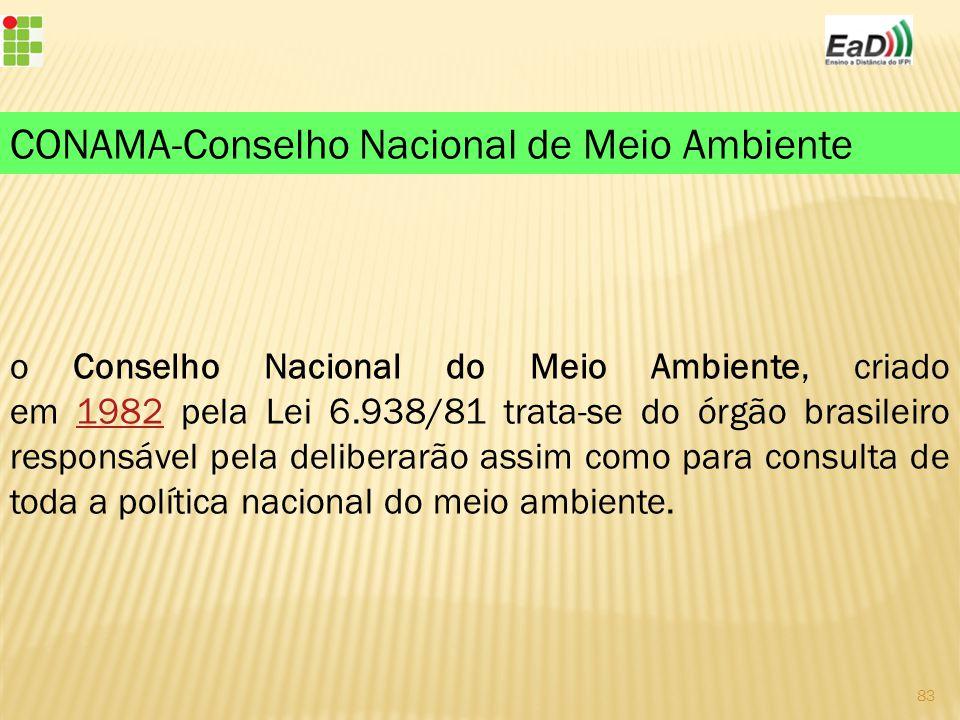 CONAMA-Conselho Nacional de Meio Ambiente