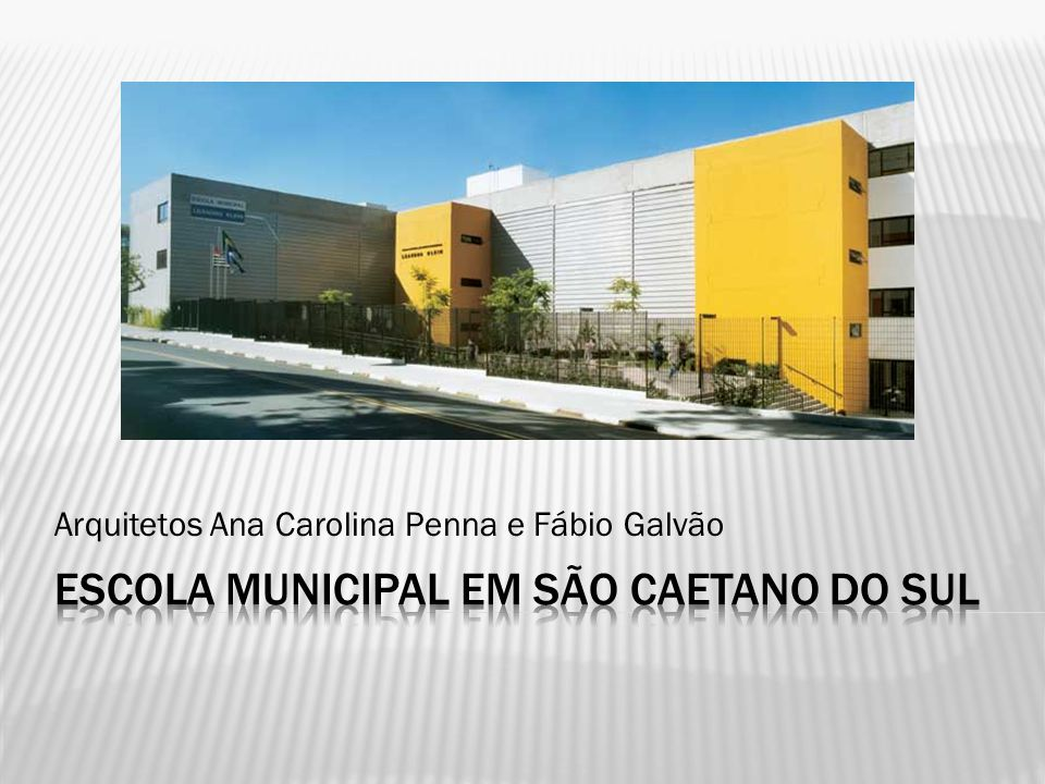 Escola Municipal em São Caetano do Sul