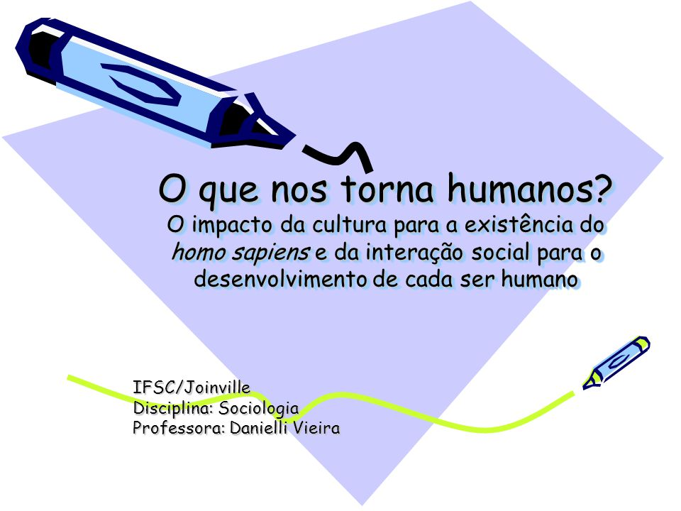 IFSC/Joinville Disciplina: Sociologia Professora: Danielli Vieira