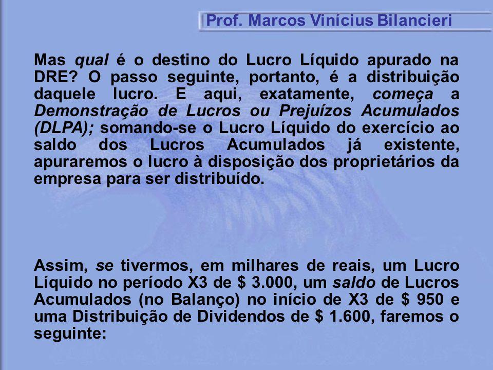 Prof. Marcos Vinícius Bilancieri