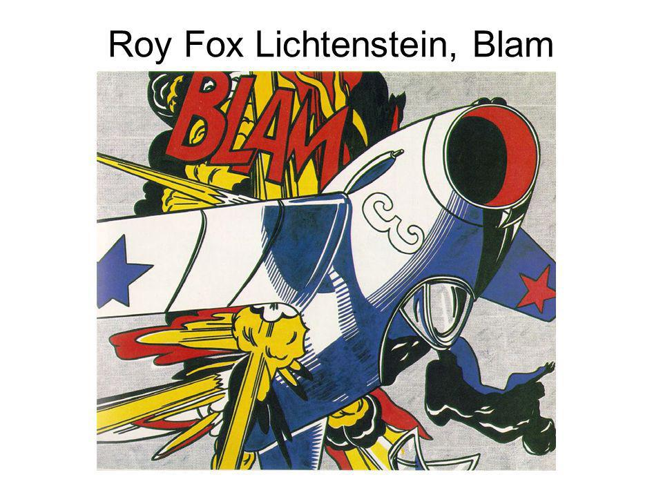 Roy Fox Lichtenstein, Blam