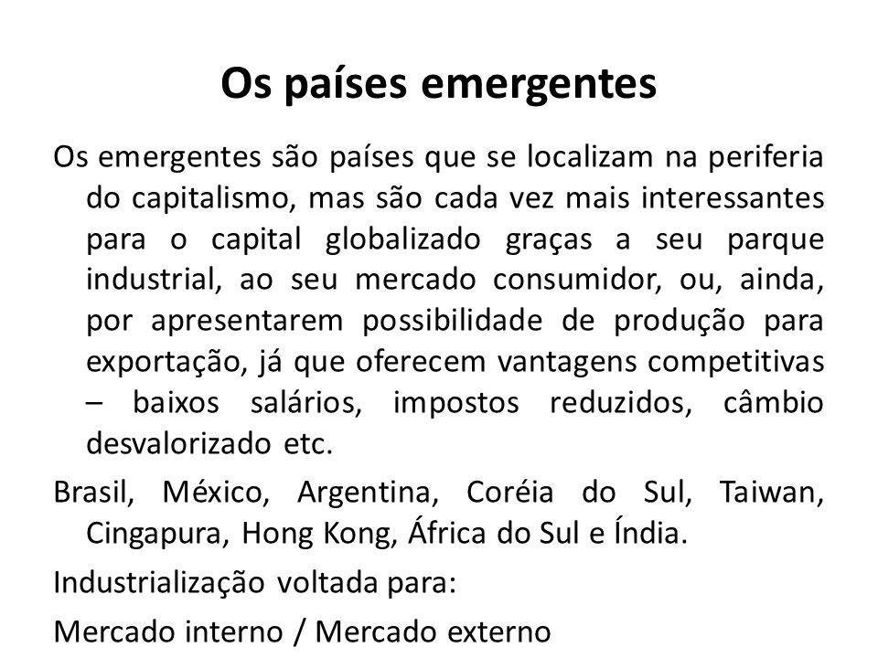 Os países emergentes