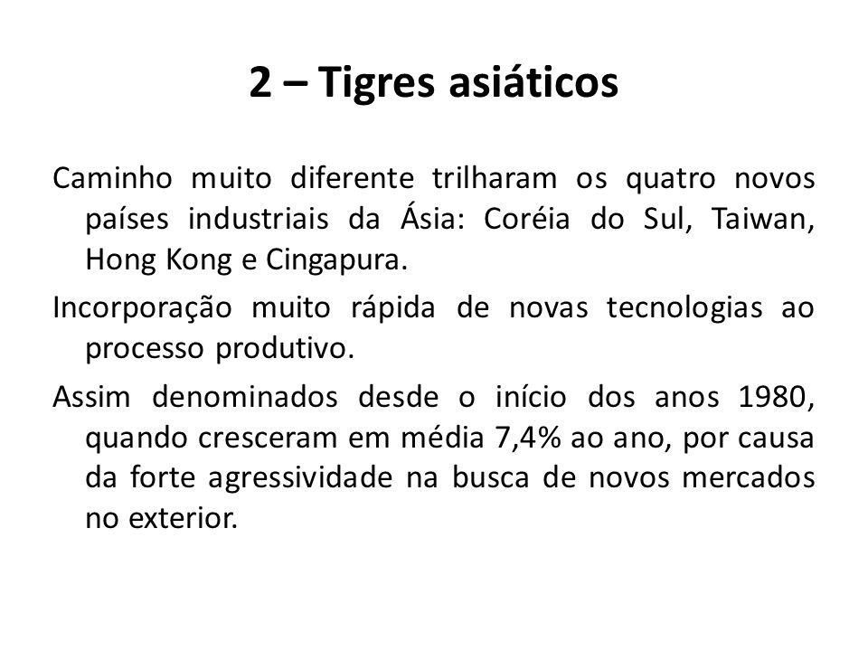 2 – Tigres asiáticos