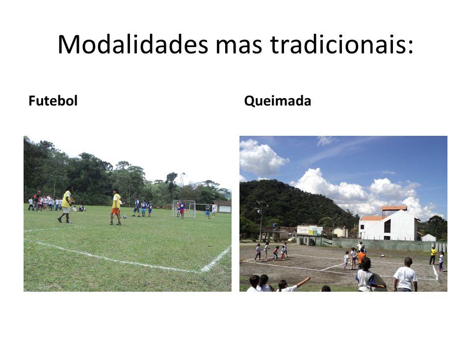 Modalidades mas tradicionais: