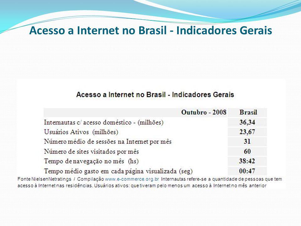 Acesso a Internet no Brasil - Indicadores Gerais