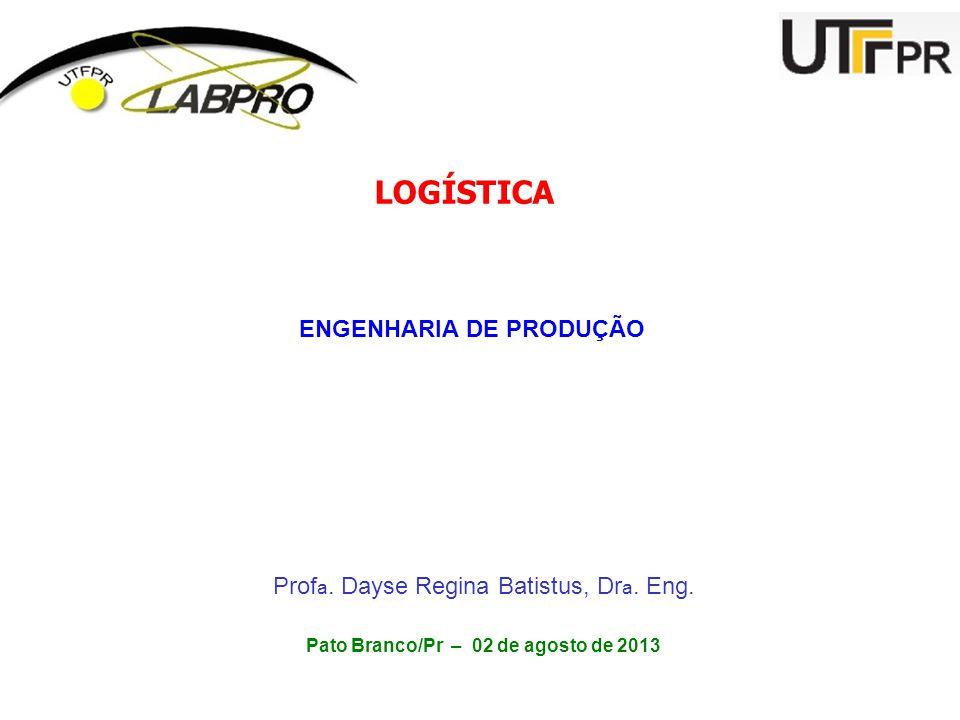 ENGENHARIA DE PRODUÇÃO Pato Branco/Pr – 02 de agosto de 2013