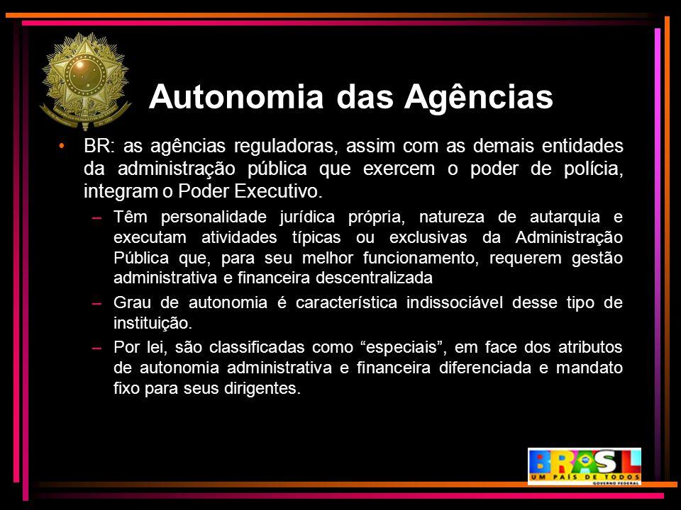 Autonomia das Agências