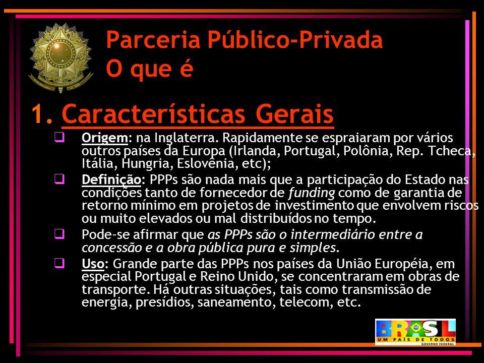 Parceria Público-Privada O que é