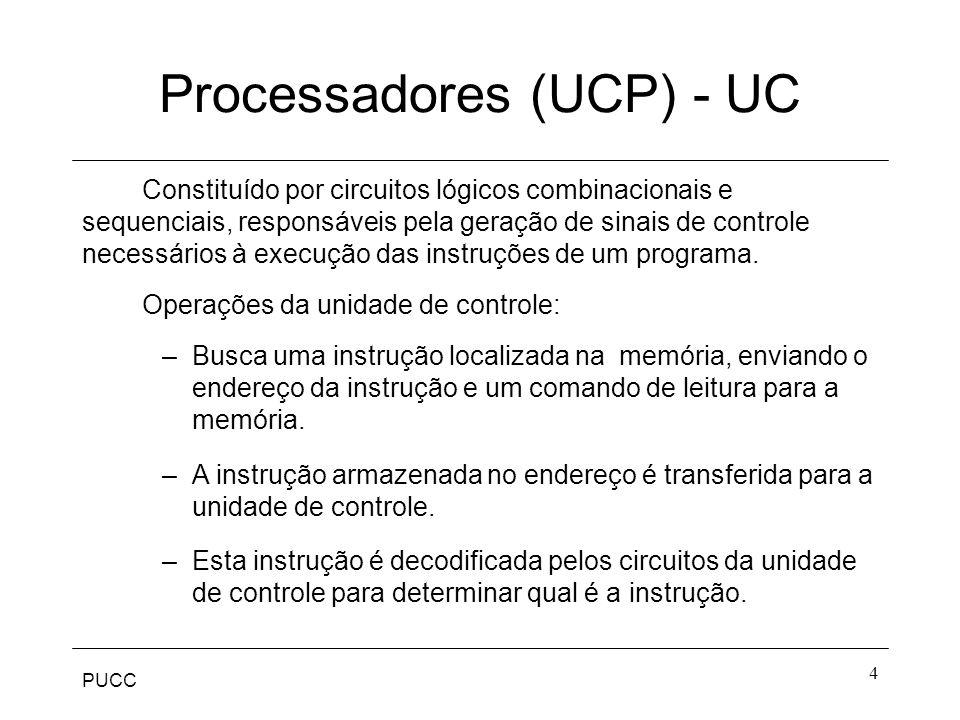 Processadores (UCP) - UC
