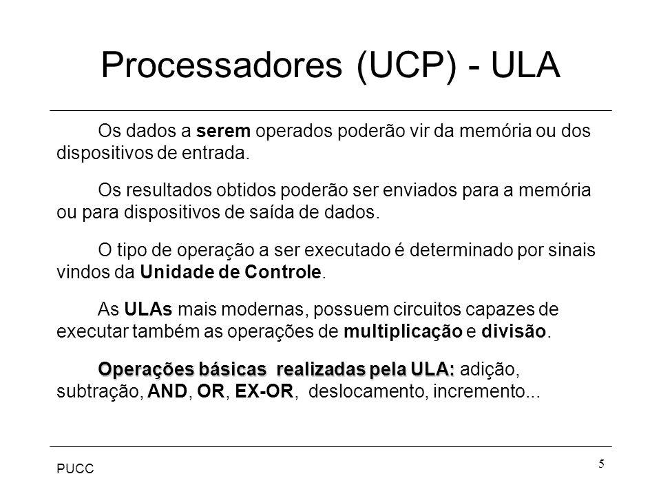 Processadores (UCP) - ULA