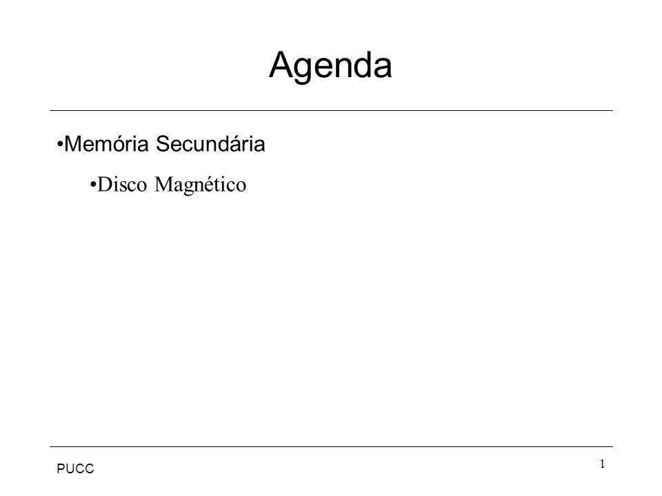 Agenda Memória Secundária Disco Magnético