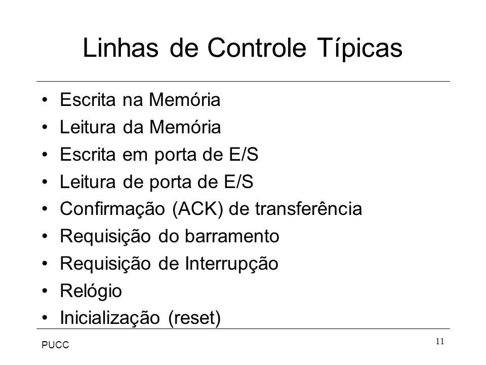 Linhas de Controle Típicas