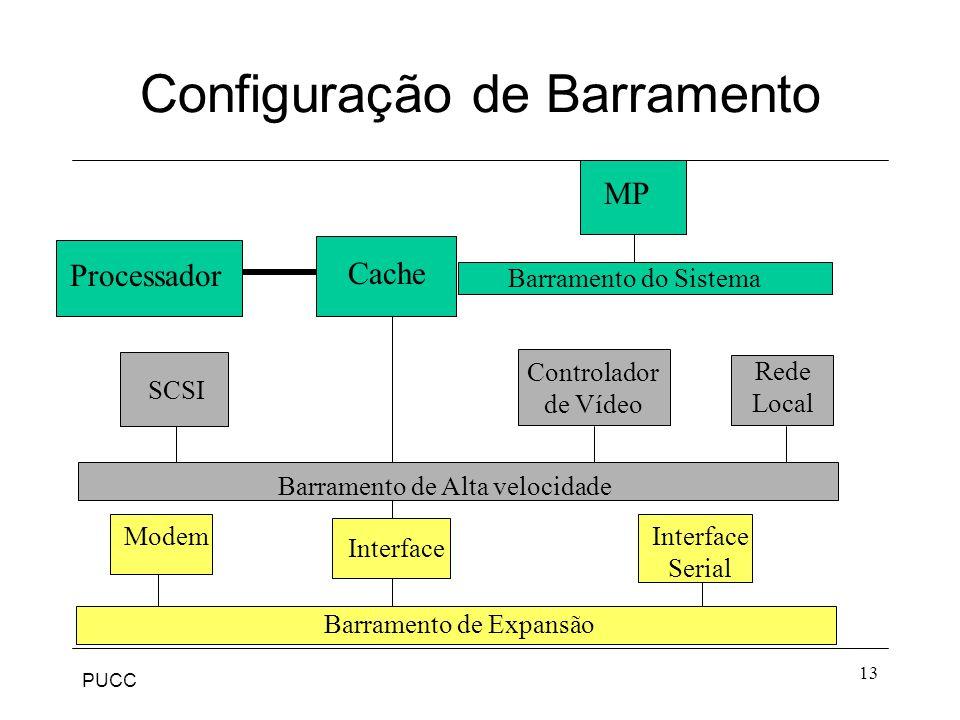 Configuração de Barramento