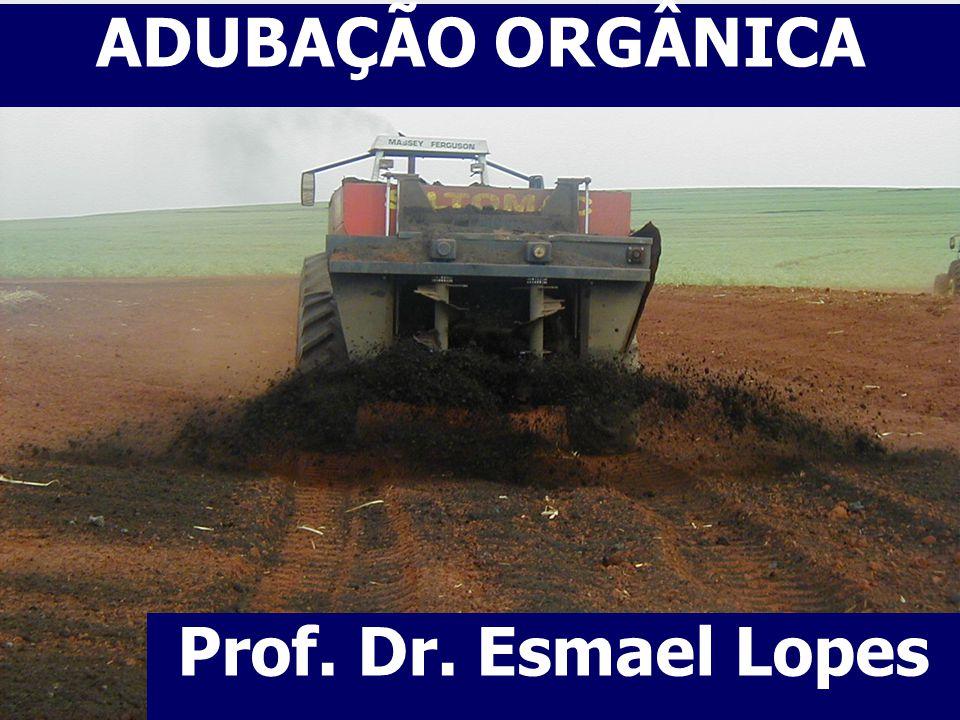 ADUBAÇÃO ORGÂNICA Prof. Dr. Esmael Lopes