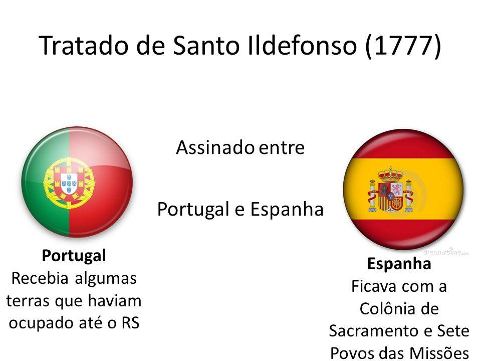 Tratado de Santo Ildefonso (1777)