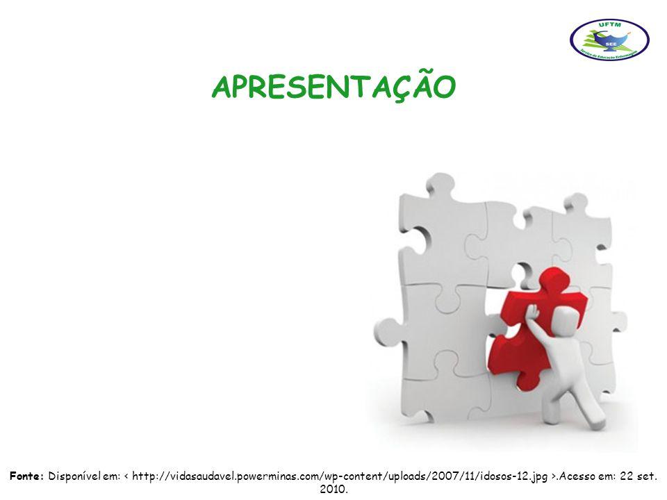 APRESENTAÇÃO Fonte: Disponível em: < http://vidasaudavel.powerminas.com/wp-content/uploads/2007/11/idosos-12.jpg >.Acesso em: 22 set.