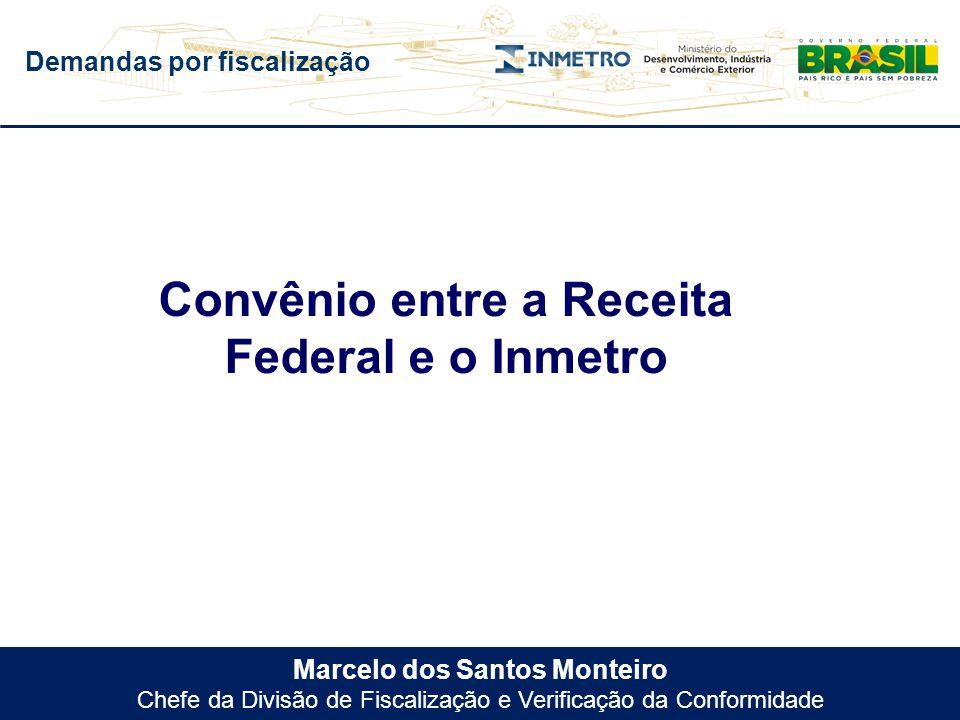 Convênio entre a Receita Federal e o Inmetro
