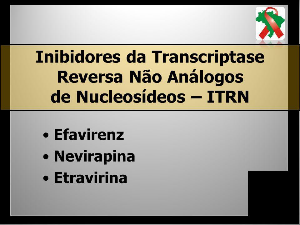 Inibidores da Transcriptase Reversa Não Análogos de Nucleosídeos – ITRN