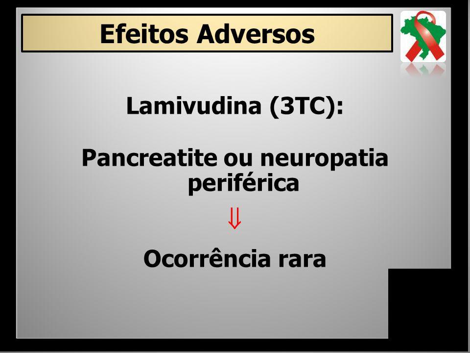 Pancreatite ou neuropatia periférica