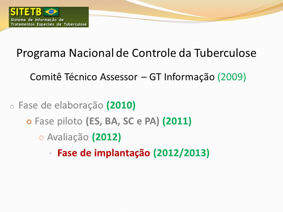 Programa Nacional de Controle da Tuberculose