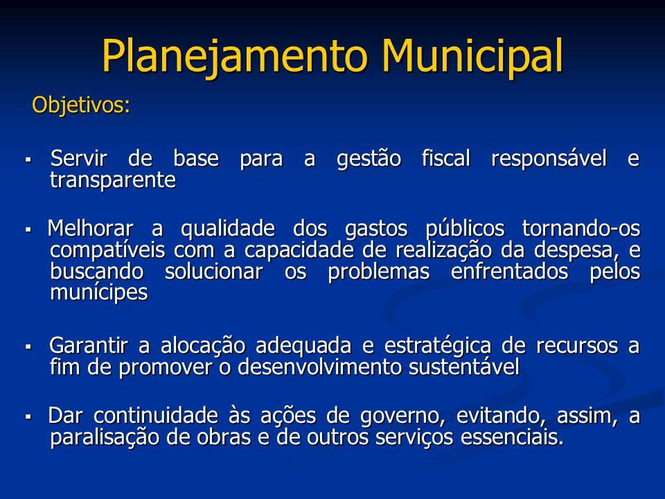 Planejamento Municipal