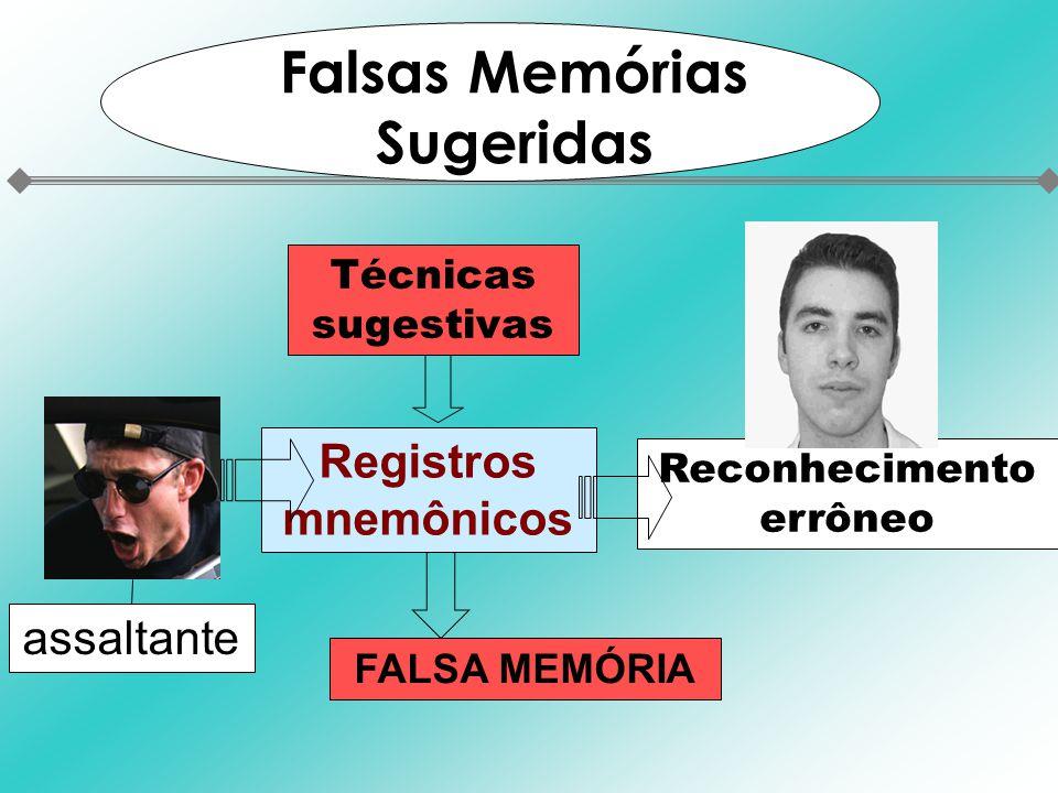 Falsas Memórias Sugeridas