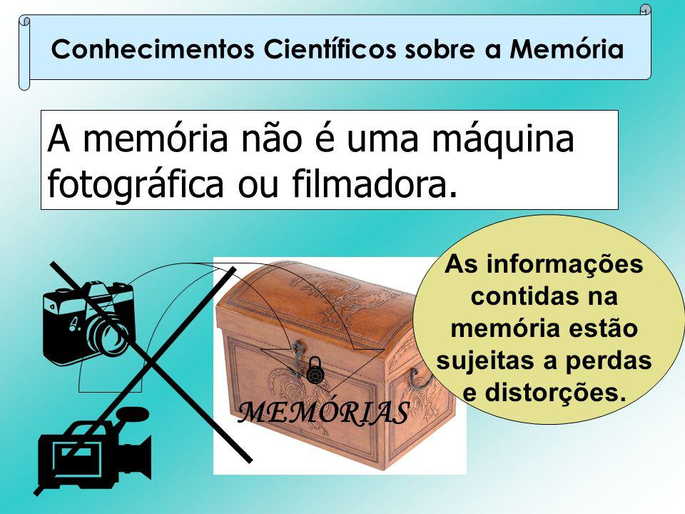 Conhecimentos Científicos sobre a Memória