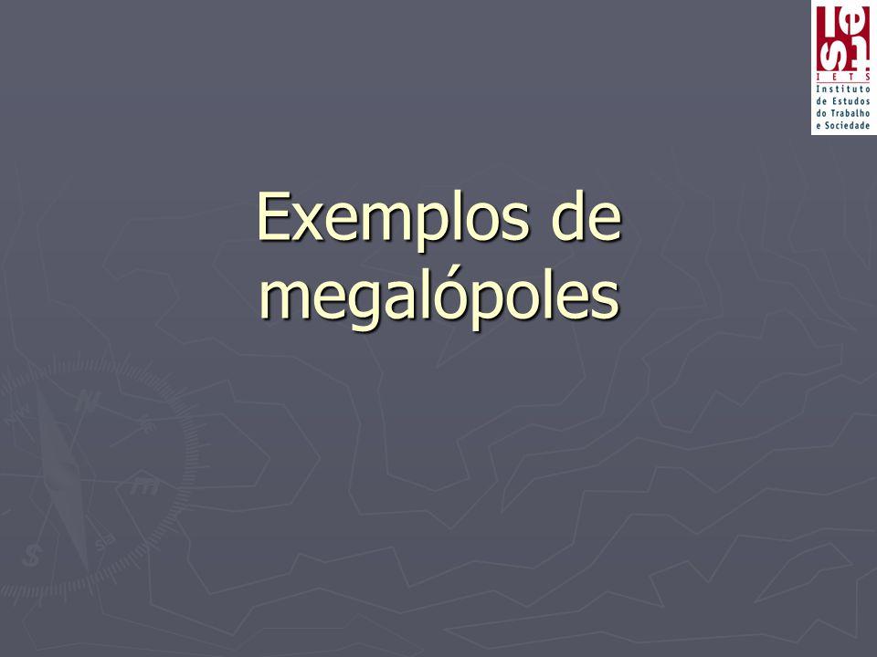 Exemplos de megalópoles