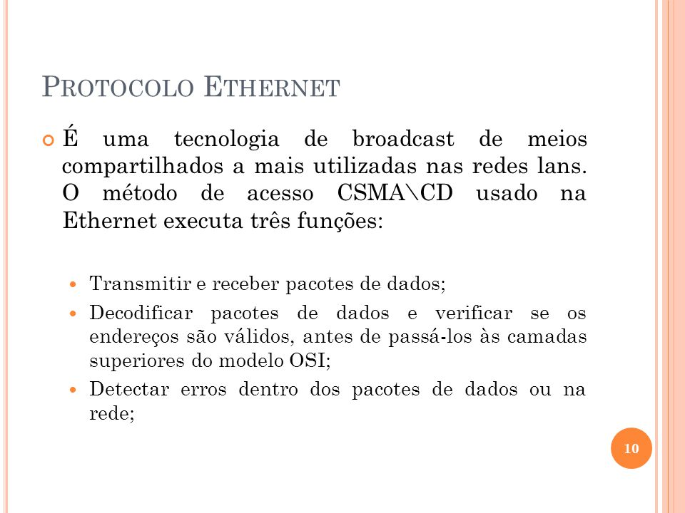 Protocolo Ethernet