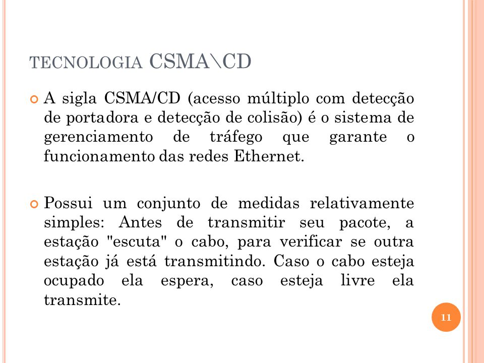tecnologia CSMA\CD