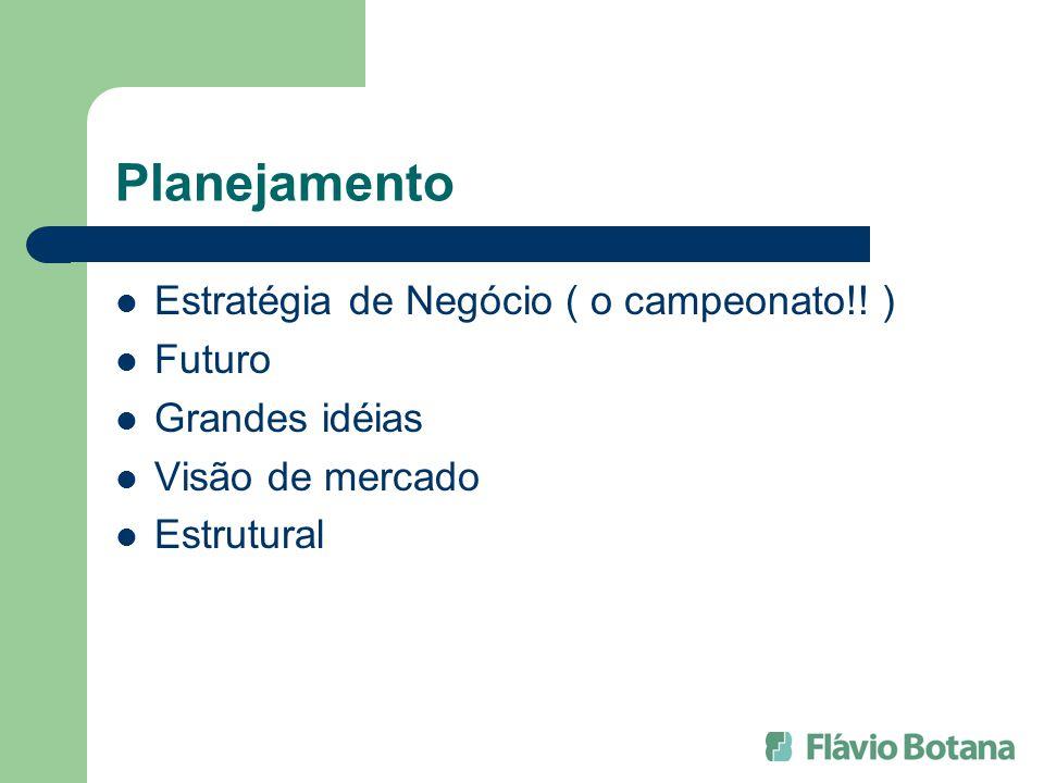 Planejamento Estratégia de Negócio ( o campeonato!! ) Futuro