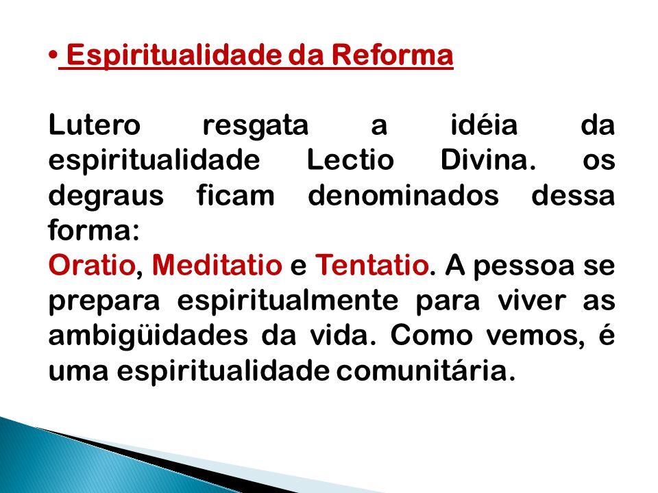 Espiritualidade da Reforma