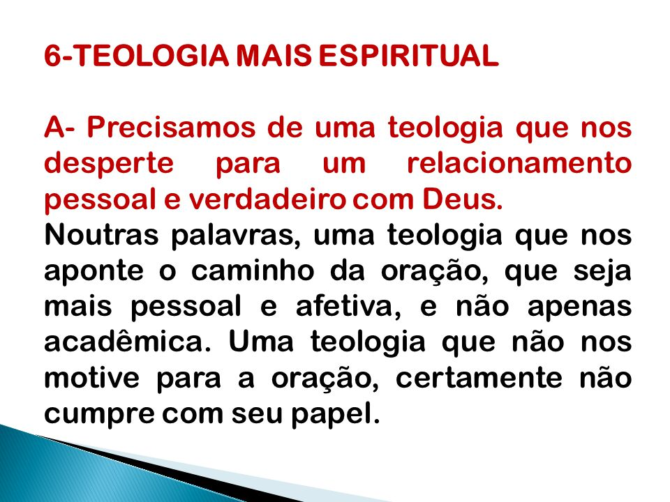6-TEOLOGIA MAIS ESPIRITUAL
