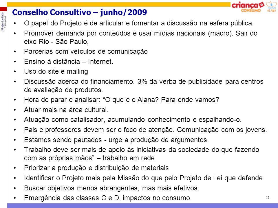 Conselho Consultivo – junho/2009