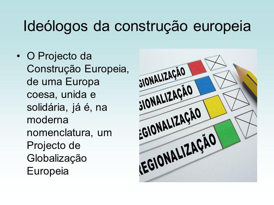 Ideólogos da construção europeia
