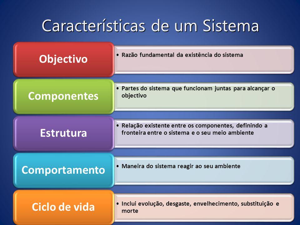 Características de um Sistema