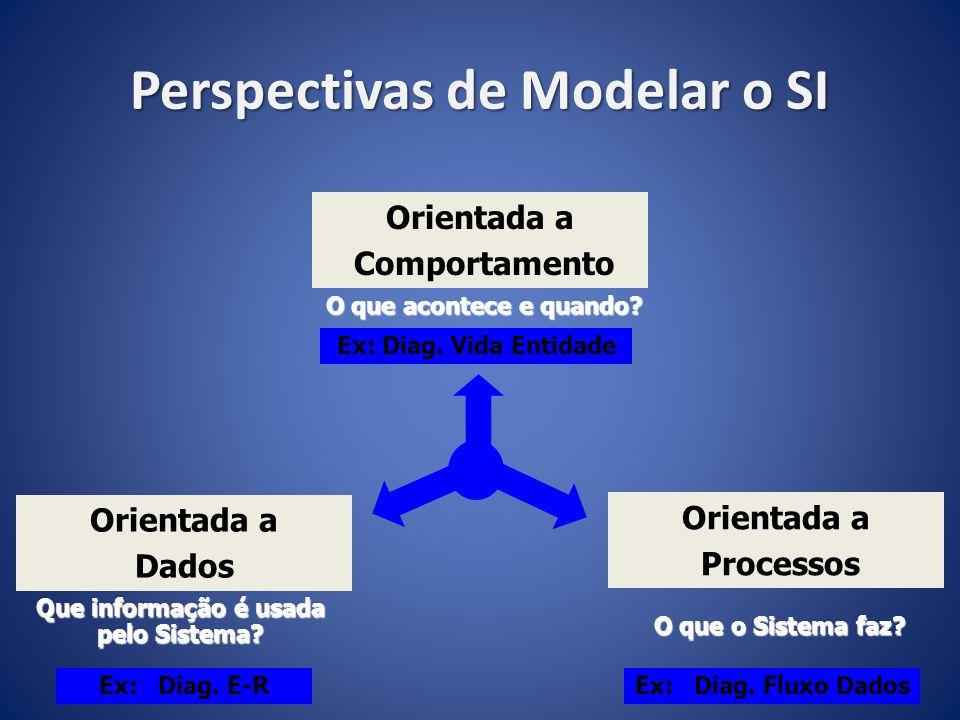 Perspectivas de Modelar o SI