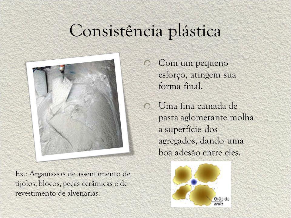 Consistência plástica