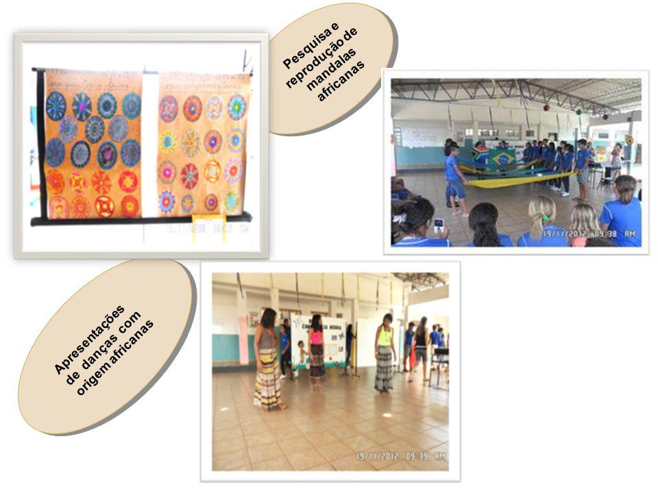 Pesquisa e reprodução de mandalas africanas
