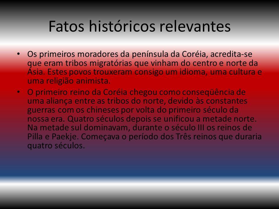 Fatos históricos relevantes