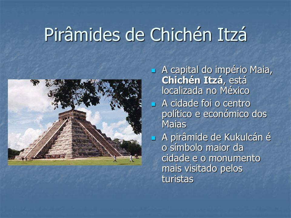 Pirâmides de Chichén Itzá